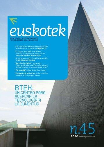 Se inicia la construcción del futuro edificio de Bic Gipuzkoa Berrilan