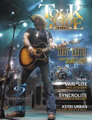 Tour Guide Journal | volume 10 issue 9 | Toby Keith - Mobile ...