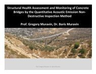 Structural Health Assessment and Monitoring of Concrete Bridges ...