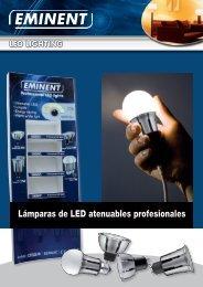Lámparas de LED atenuables profesionales - Eminent