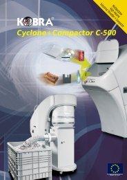 Kobra Cyclone + Compactor C-500 - OfficeRocker