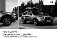 DER BMW X5. ORIGINAL BMW ZUBEHÖR. - BMW Diplomatic Sales
