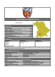 Profil Landkreis Landsberg am Lech - Planungsverband Äußerer ...