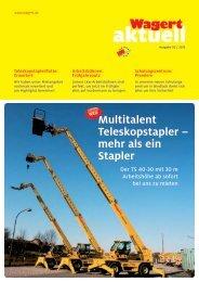Wagert Aktuell Ausgabe 02/2013