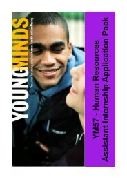 Please click here to download a HR Intern Application ... - YoungMinds