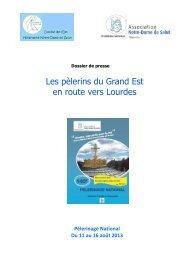 Les pèlerins du Grand Est en route vers Lourdes - L'Alsace en ...