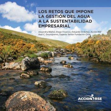 Gestión del agua y Sustentabilidad