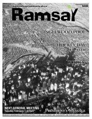 February 2011 - Ramsay Community Association in Calgary