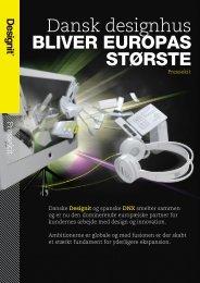 Dansk designhus BLIVER EUROPAS STØRSTE - Danish Design ...