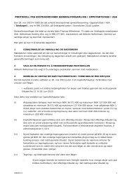 protokoll fra ekstraordinær generalforsamling i oppstartsfase i asa