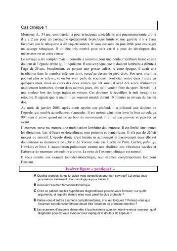 Cas clinique 1 - UMVF