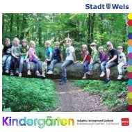 Kindergärten der Stadt Wels - Broschüre (895 KB)