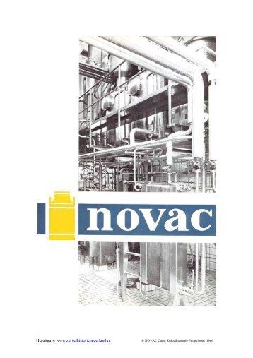 "Jaarverslag Zuivelindustrie ""NOVAK"" - 1966 - Zuivelhistorie Nederland"