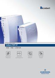 Liebert PSP XT 450 - 700 - 1250 VA - Connex Telecom