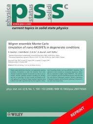 Wigner ensemble Monte-Carlo simulation of nano ... - ResearchGate