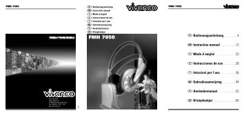 FMH 7050 - Produktinfo.conrad.com