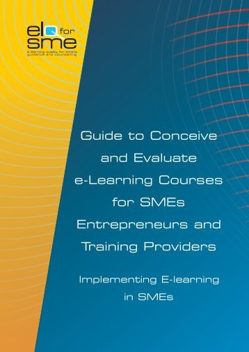 Guide to Conceive and Evaluate e-Learning Courses for ... - Cecoa