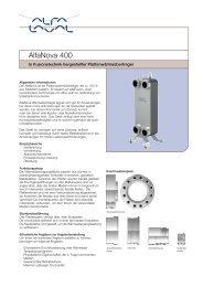 AlfaNova 400 - Alfa Laval