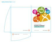 Healthy Athletes folder Artwork (PDF) - Special Olympics