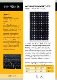 Modulo fotovoltaico 300 W - STAES