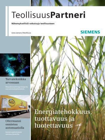 TeollisuusPartneri 1/2010 - Siemens