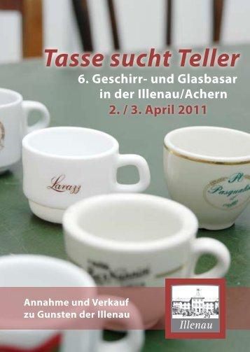 Tasse sucht Teller - Forum ILLENAU