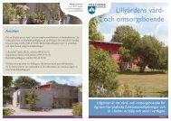 Informationsfolder Lillgården (PDF-fil, 313 kB) - Vellinge kommun