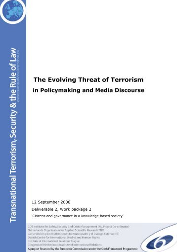 The Evolving Threat of Terrorism in Policy and Media