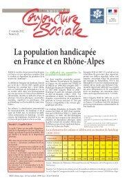 La population handicapée en France et en Rhône-Alpes - (DRJSCS ...