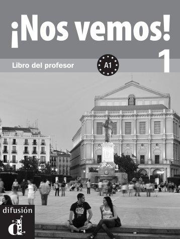¡Nos vemos! 1 - Libro del profesor - PDF descarga gratuita - Difusión