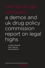 Taking Drugs Seriously - UK Drug Policy Commission
