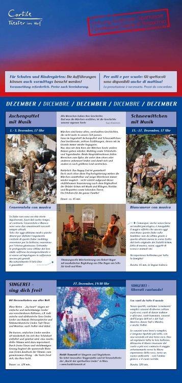 Dezember / Dicembre / Dezember / Dicembre / Dezember - KNAX