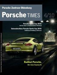 Saisonabschluss Porsche Sports Cup 2010.