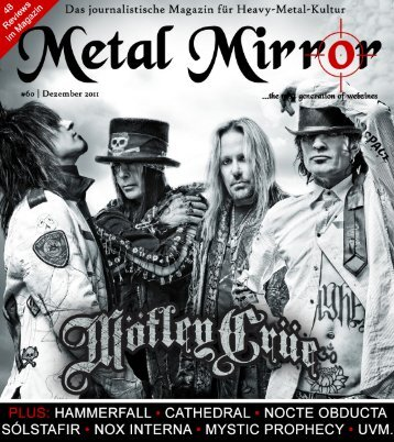 METAL MIRROR #60 - Mötley Crüe, HammerFall, Cathedral ...