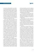 Relatório de Atividades - Ibase - Page 7