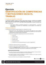 Identificación de competencias y motivaciones hacia el trabajo