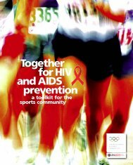 Together for HIV and AIDS prevention