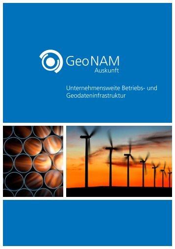 Produktblatt - GeoNAM Auskunft - Geomagic GmbH