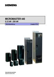 MICROMASTER 440