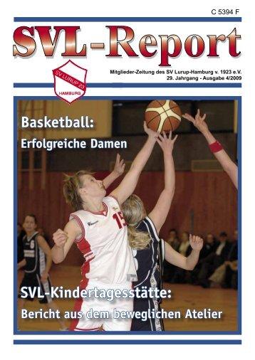Basketball: SVL-Kindertagesstätte: - SV Lurup