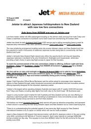 Jetstar to attract Japanese holidaymakers to New Zealand with new ...