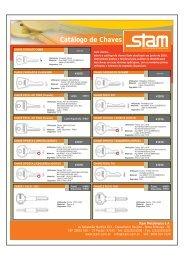 Catálogo de Chaves - Atualização 2010 (PDF) - Stam