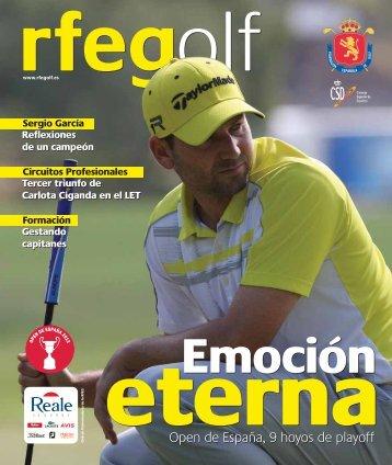 Open de España, 9 hoyos de playoff Open de España, 9 hoyos de ...