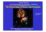 The Earliest Stages of Massive Star Formation Massive Star Formation