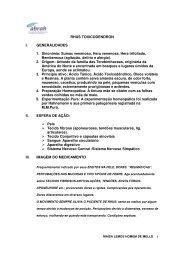 RHUS TOXICODENDRON I. GENERALIDADES 1. Sinonímia ...