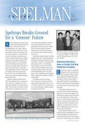 Fall2006/Winter 2007 (PDF) - Spelman College: Home