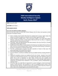 FAM-Weekly-Intelligence-Update-Sochi-Russia-2014-Week-13