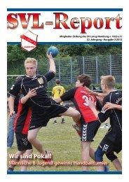 Wir sind Pokal! Männliche B-Jugend gewinnt den Born ... - SV Lurup