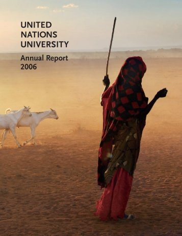 United Nations University Annual Report 2006