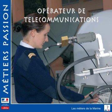opérateur de telecommunications Métiers ... - Marine et Marins